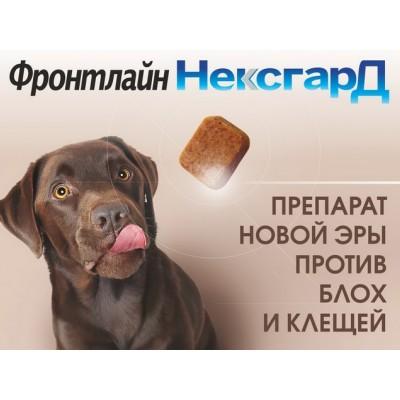 Новое и эффективное средство от блох  и клещей для собак - Фронтлайн Нексагрд