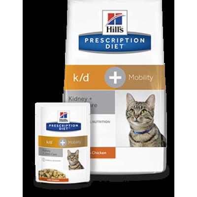 купить корм хиллс k/d+mobility для кошек в краснодаре, хиллс ренал для кошек, корм хиллс для кошек с хпн